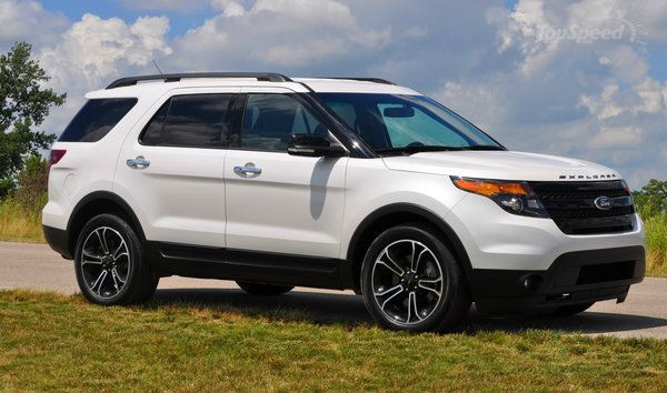 2014 Ford Explorer Sport White