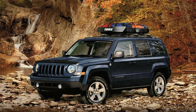 2014 Jeep Patriot Interior Dimensions