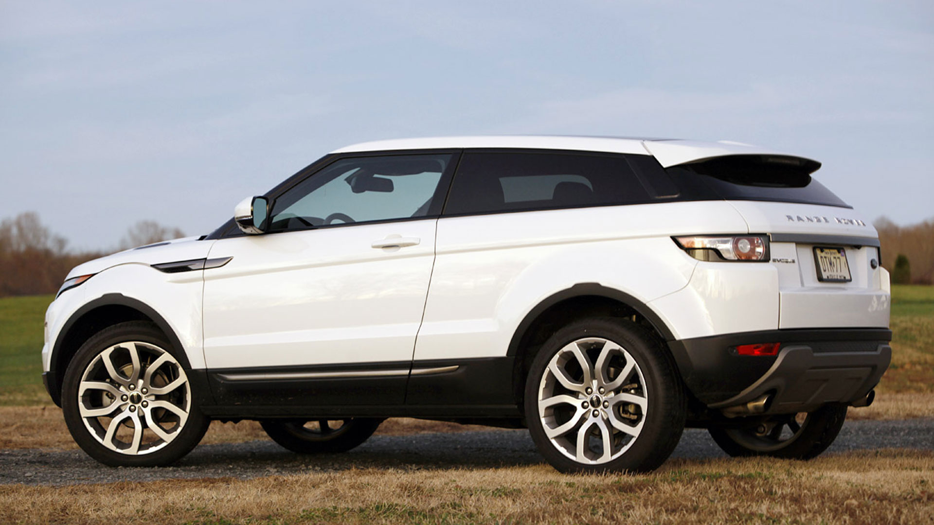2014 Land Rover Evoque White