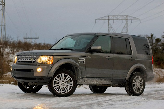 2014 Land Rover LR4 Spy