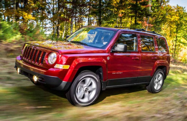 2015 Jeep Patriot Red