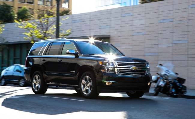 2015 Chevrolet Tahoe Mpg
