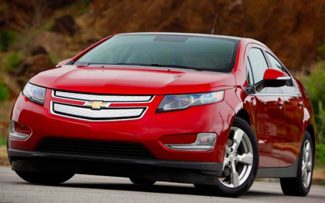 2015 Chevrolet Volt Red