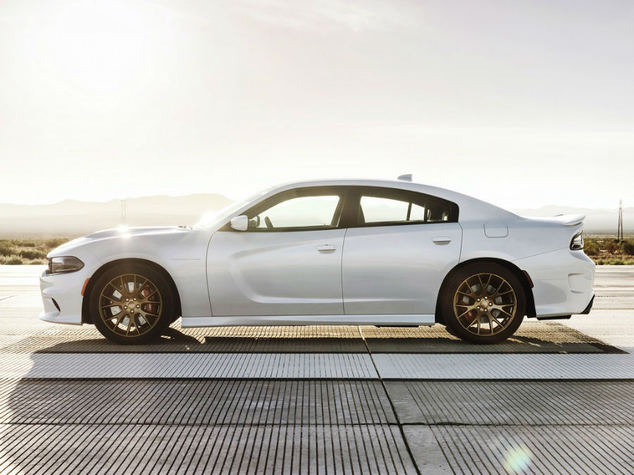 2015 Dodge Charger Hellcat White | TOPCARZ.US