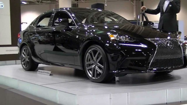 2014 Lexus IS250 F Sport Black