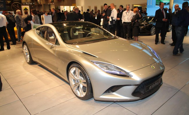 2014 Lotus Elite Images