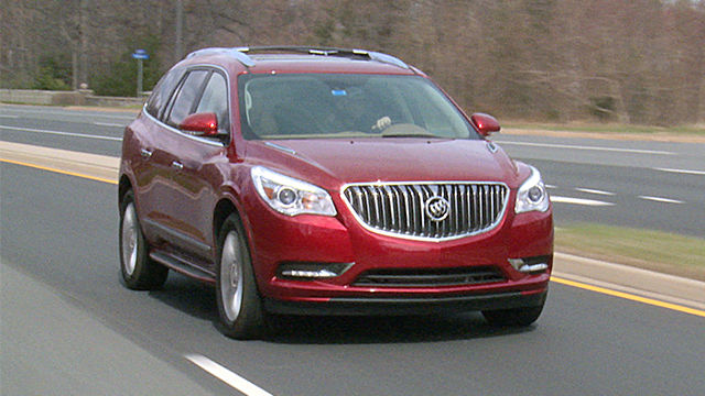 2014 BUICK Enclave RED