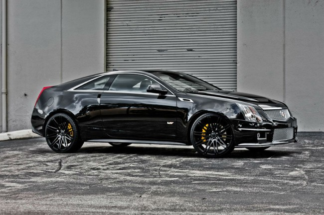 2014 Cadillac CTS Black Wheels