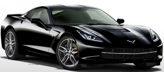 2014 Chevrolet Corvette Stingray Black