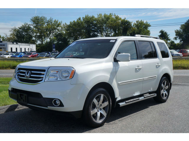 2014 honda pilot touring white topcarz us. Black Bedroom Furniture Sets. Home Design Ideas