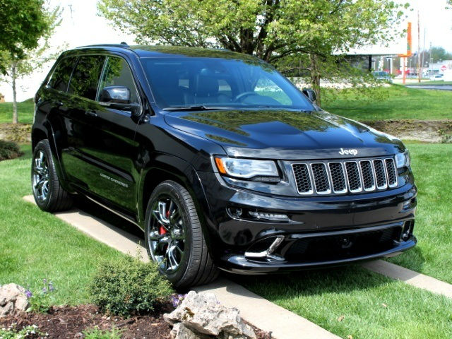 2014 Jeep Cherokee Srt8 Black