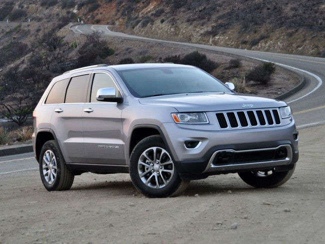 2014 Jeep Grand Cherokee St8 Silver