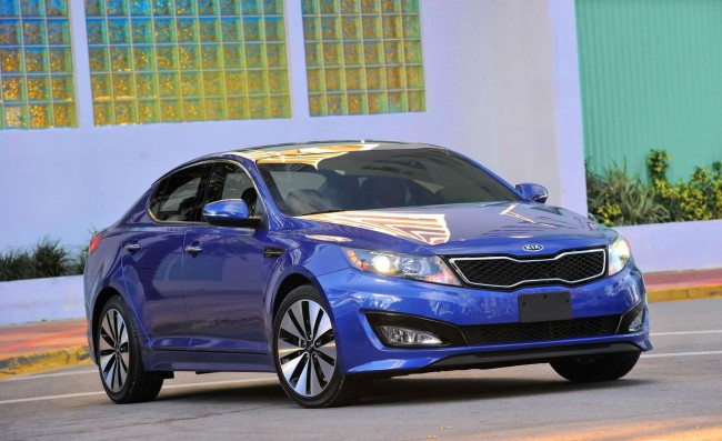 2014 Kia Optima SX Blue
