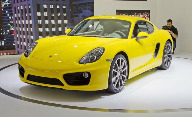 2014 Porsche Boxster Base Manual