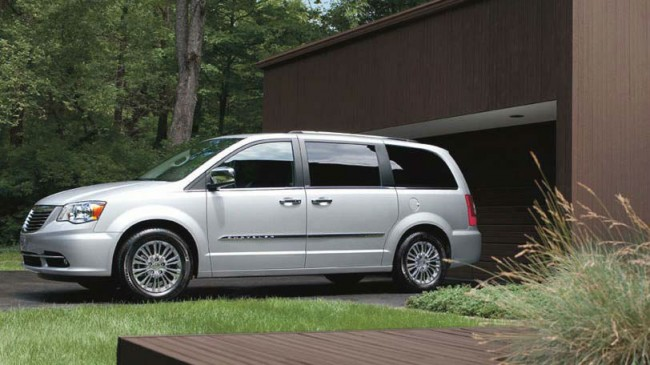 2013 Chrysler Town And Country Touring Manual