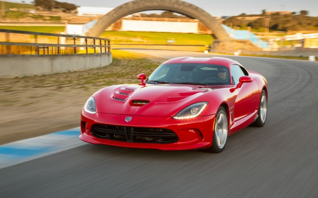 2013 Dodge Viper SRT Quarter Mile