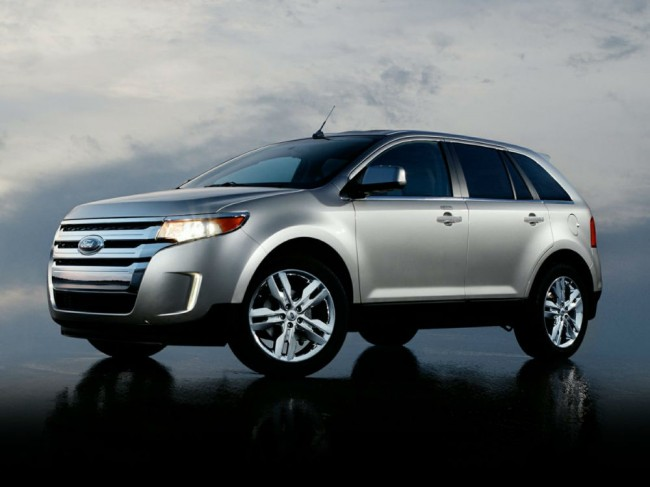 2013 Ford Edge Sport Silver
