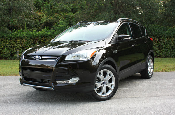 2013 Ford Escape Black