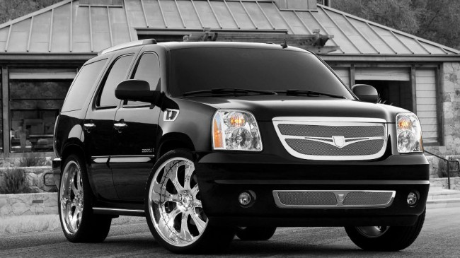 2013 GMC Yukon Black