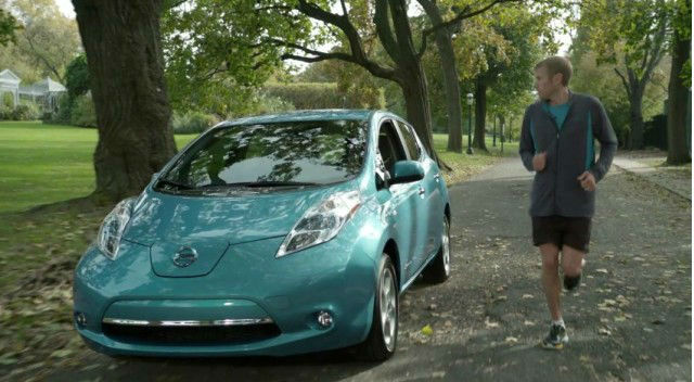 2013 Nissan Leaf SV Lease