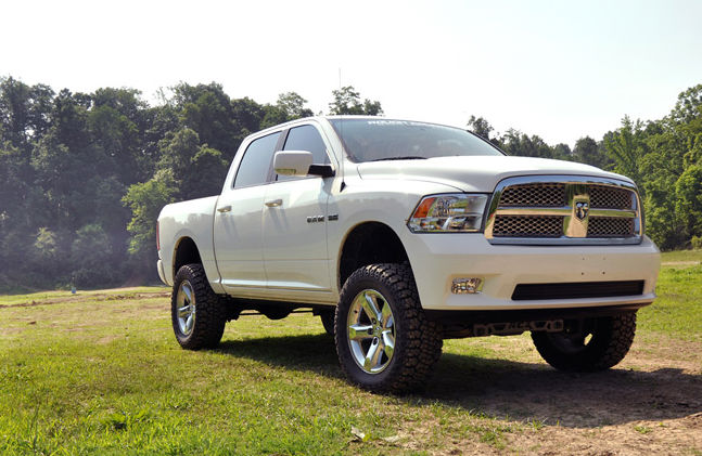 2013 Ram 1500 Lifted  White