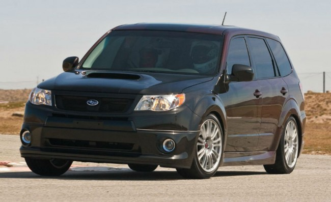 2013 Subaru Forester Lowered