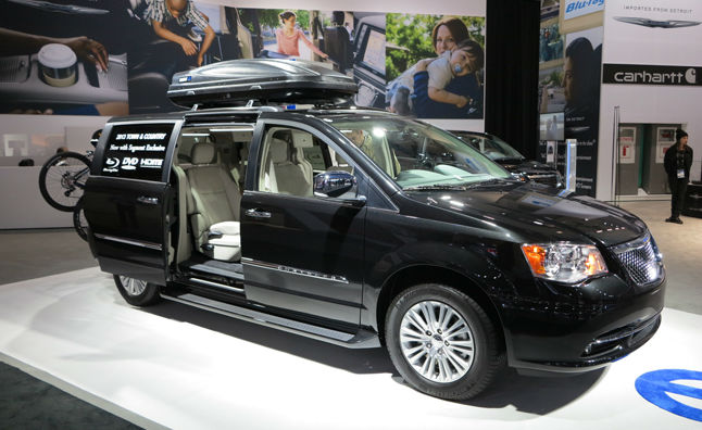 2015 Chrysler Town & Country Spy