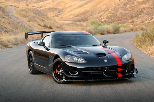 2015 Dodge Viper SRT Black