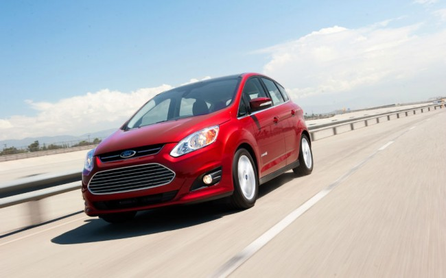 2015 Ford C-Max Hybrid Red
