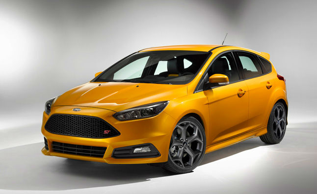 2015 Ford Focus St Yellow
