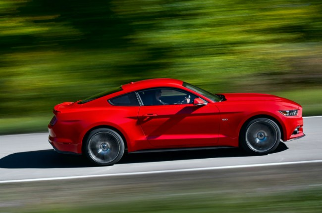 2015 Ford Mustang V6 Red