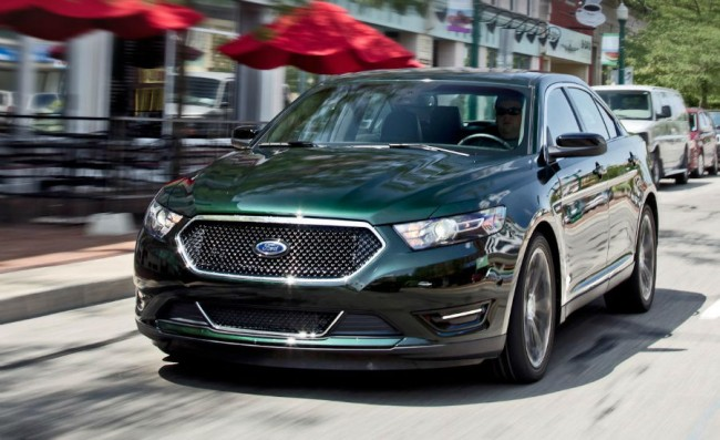 2015 Ford Taurus Spy