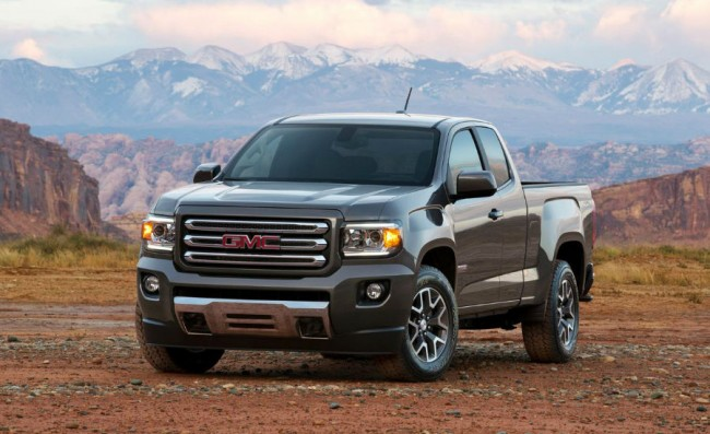2015 GMC Canyon Z71