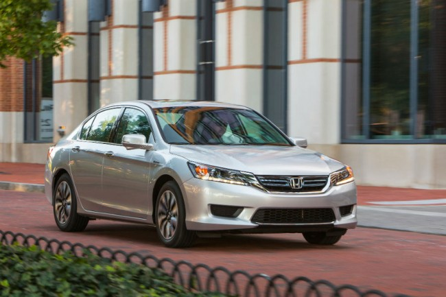2015 Honda Accord Hybrid Mpg
