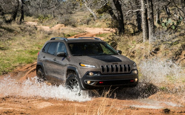 2015 Jeep Cherokee Trailhawk Coupe