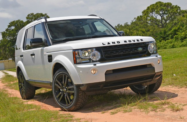2015 Land Rover LR4 Spy