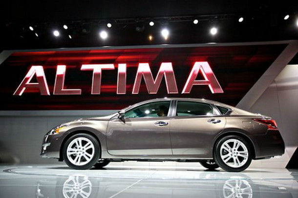 2015 Nissan Altima Spy