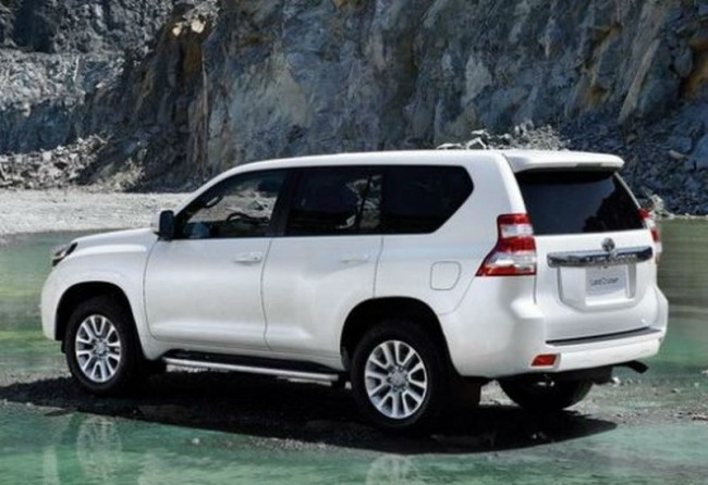 2015 Toyota Land Cruiser Spy