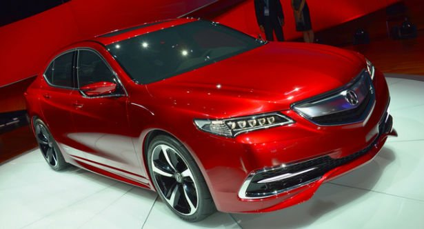 2016 Acura TL Red
