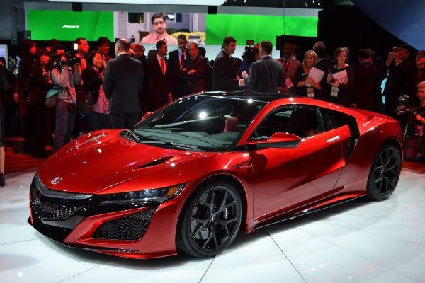 2018 Acura NSX Red