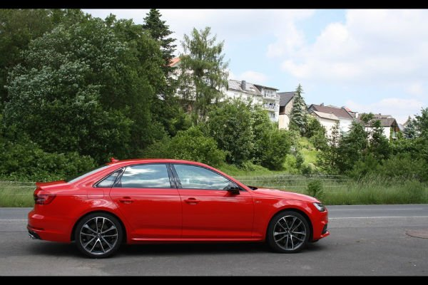 2018 Audi S4 Red