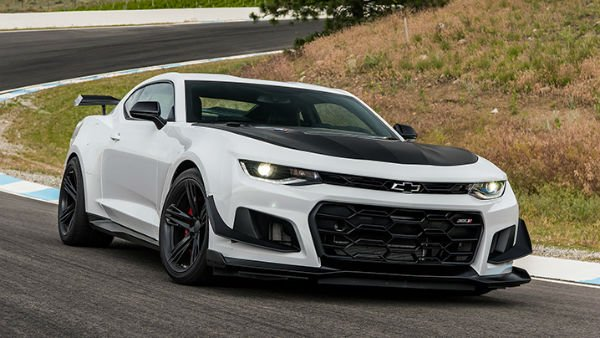 Chevrolet Camaro 2018 White
