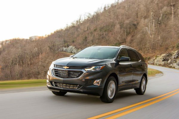 Chevrolet Equinox 2018 Black
