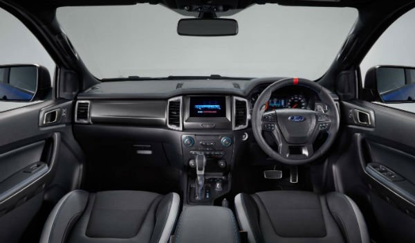 Ford Ranger Raptor 2018 Interior