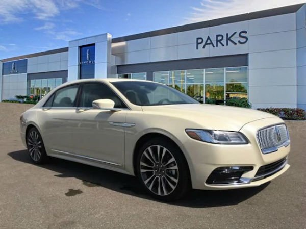 2018 Lincoln Continental Configurations