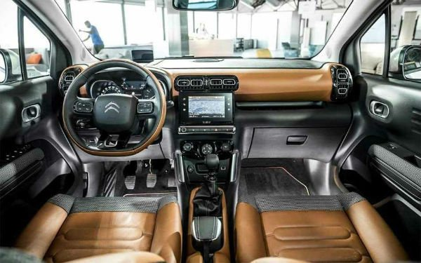 2020 Citroen C3 Aircross Interior