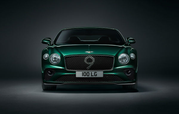 Bentley Continental GT 2021 Green