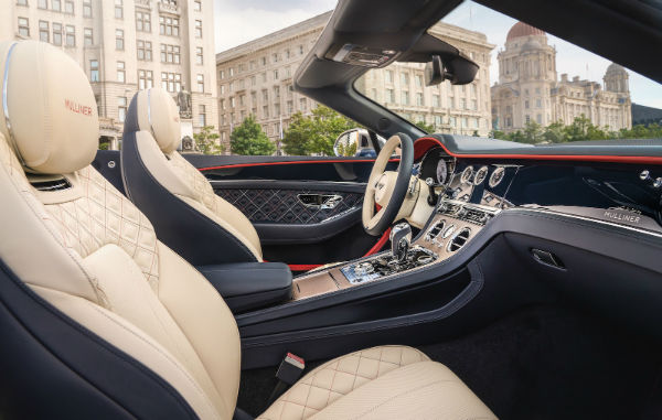 Bentley Continental GT 2021 Interior